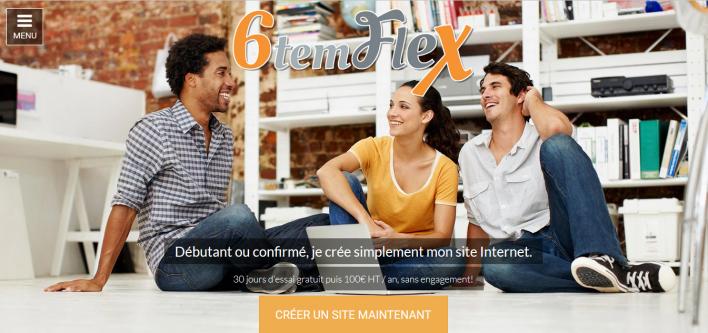 web, 6temflex, 6tem, florent moulinard, site internet